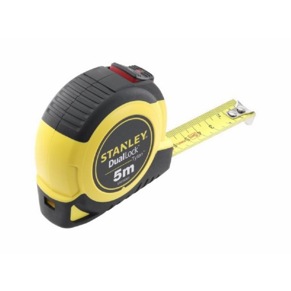 FLEXOMETRO 5MX19mm STANLEY DUAL-LOCK