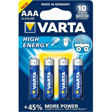 PILA VARTA AAA LR03 HIGH ENERGY