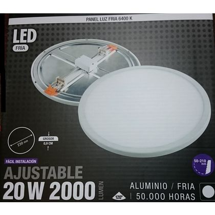 DOWNLIGHT LED AJUSTABLE 6W CALIDO